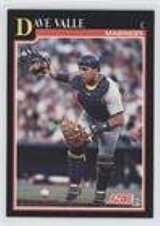 Amazoncom Dave Valle Baseball Card 1991 Score Base