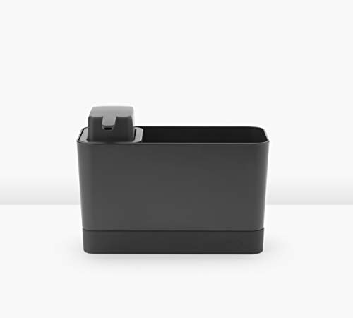 Brabantia Spülorganizer, Kunststoff, Dunkelgrau, Einheitsgröße