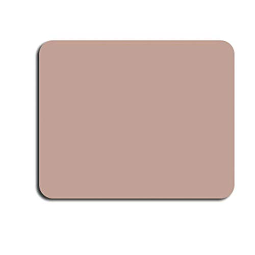 2021 Pure Color Small Leather Simple Waterproof Non-Slip Office Mouse pad (Cherry Pink)