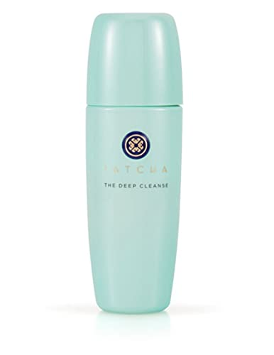Tatcha The Deep Cleanse: Non-irritating Daily Gel Cleanser to Hydrate, Exfoliate and Tighten Pores - 150 ml / 5 oz