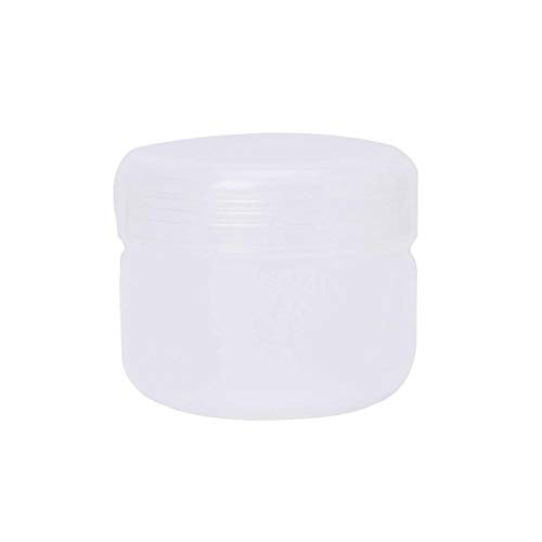 Kunststoff mini leere pumpe Plastische, kosmetische Reisen Leere Gläser Töpfe Make-up Creme Lippenbalsam 10g / 20g / 50g / 100g 5 Farben (Color : 4/7mm hose interface Tee, Specifications : 100g)