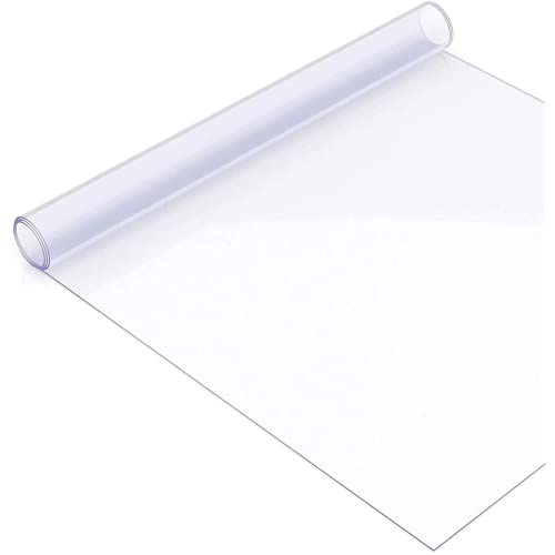 JKLJL Mantel Transparente, Tablecloth Transparente PláStico PVC, Impermeable Protector De Mantel Protector Rectangular De Muebles De Mesa De Escritorio Espesor 0.5mm