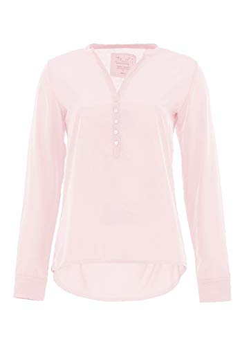 DAILY`S NOTHING`S BETTER BY S. W. B. Giada: Longsleeve Blusenshirt, Color:Soft-Ice, Size:S