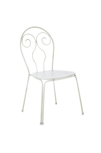 Emu Caprera 930 309302300 Chairs Powder-Coated Steel Set of 4 Matte White