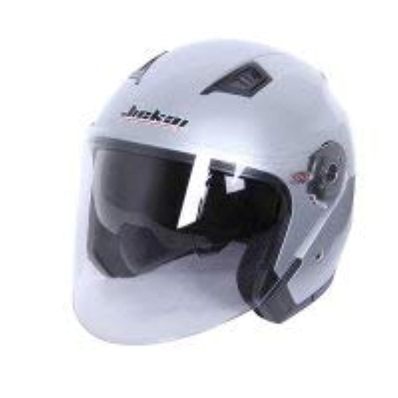 ピーク防腐剤助けてJIEKAIバイクヘルメット メンズジェットヘルメットハーフェイスヘルメットシステムヘルメット レディース半帽 bike helmet透明シールド