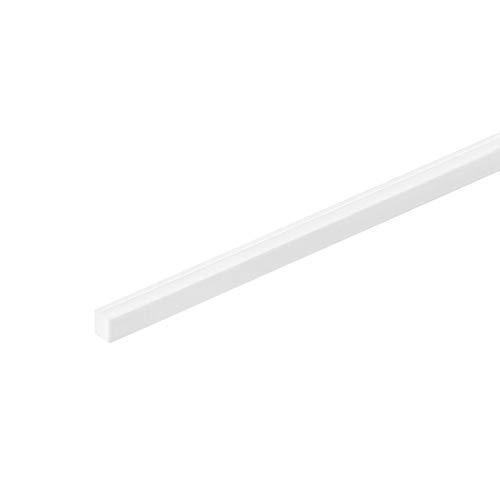 sourcing map Vierkantstange Stab für Architekturmodellbau DIY ABS Kunststoff 4mm×4mm×20
