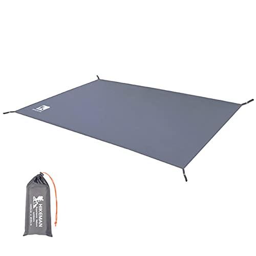 Flytise wasserdichte Camping Plane verdicken Picknickmatte Langlebige Strandunterlage Multifunktionale Zeltfläche Sun Canopy Ground Sheet zum Wandern Reisen Backpackin...