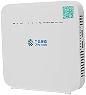 Fiber Optic - Dual Band G-140W-MF Original ONU ONT 4GE + 1POTS + 2USB + 2.4G&5G Wi-Fi GPON English Version fiber modem