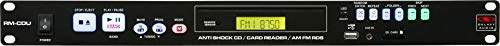 Galaxy Audio RMCDU Rack Mount Tuner/CD and MP3 Player Combo