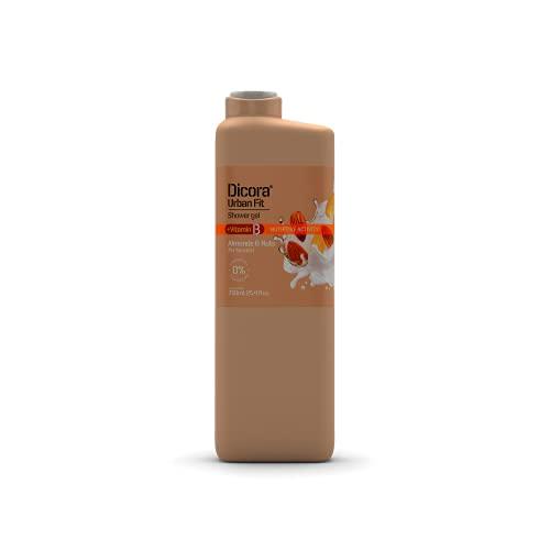 Dicora Urban Fit® Gel de Baño Vitamina B Almonds & Nuts 750 ml