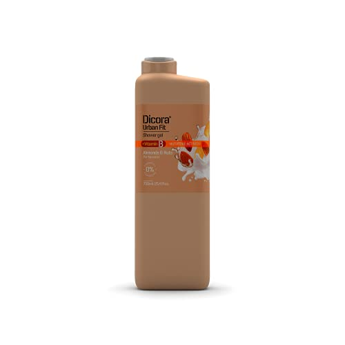 Dicora Urban Fit Gel de Baño Vitamina B Almendras & Nueces 750 ml