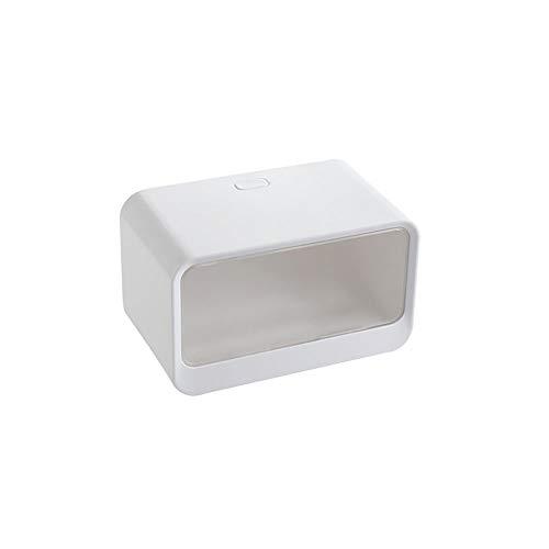 XVXFZEG Sostenedor del tejido de papel resistente al agua Dispensador de toallas, montado en la pared de toallas de mano dispensador C se retiran Colgando del tejido dispensador de papel higiénico Tit