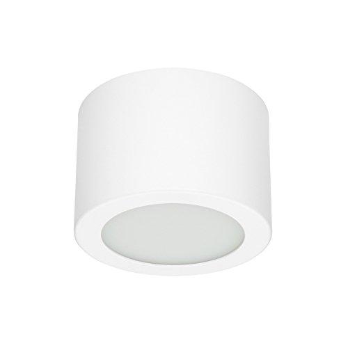 Linea Light _ Box lED-sR mural/plafond diam.11 cm Blanc
