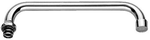 """Paffoni ZCANA008CR Canna tubo """"U"""" Ø18 mm con aeratore con interasse 180mm"""