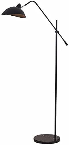 Lámpara de pie para el dormitorio Iron Art Lámpara de pie Lámpara de pie NORDIC Dormitorio Sala de estar Lámpara de escritorio Lámparas de la habitación Lámparas de cama Lámpara de noche Boda regalos