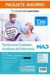 Paquete Ahorro Manuales Técnico en Cuidados Auxiliares de Enfermería. Ahorra 67 € (incluye Temario volúmenes 1, 2 y 3; Test; Simulacros de examen y acceso gratis al Curso Oro)