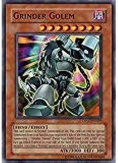 YU-GI-OH! - Grinder Golem (DP07-EN009) - Duelist Pack 7 Jesse Anderson - 1st Edition - Super Rare by: Amazon.es: Juguetes y juegos
