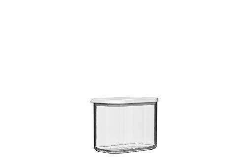 Mepal vorratsdose modula 1000 ml, Plastik, Weiß, 14.4 x 9 x 11.4 cm