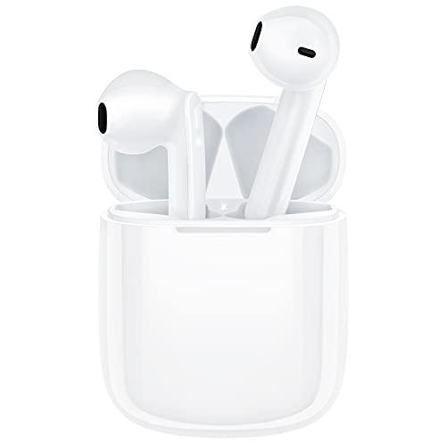 True Wireless Earbuds, REEHM IPX7 Waterproof Bluetooth 5.0 Wireless Headphones with Microphone...