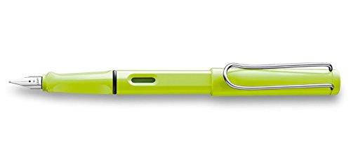 Lamy - Stylo-plume Safari Néon Lime - plume Extra-Fine EF - Edition spéciale 2015