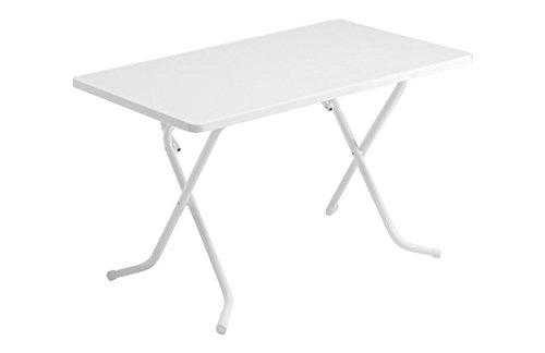 Alco-Table de Camping Alco Blanc 110 X 70 Cm
