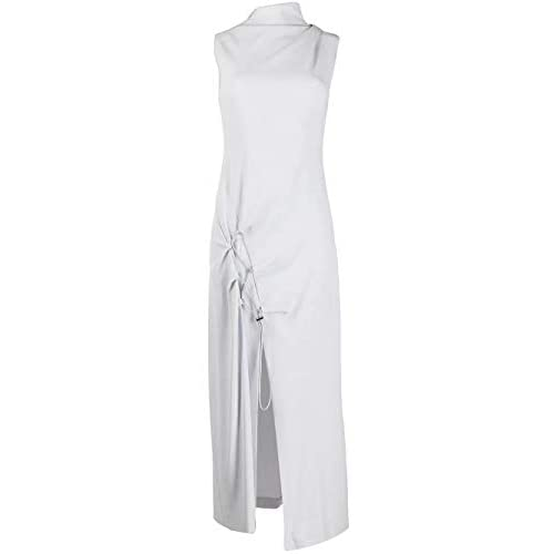 OFF-WHITE Luxury Fashion Donna OWDB240S20FAB0010800 Grigio Viscosa Vestito | Primavera-Estate 20