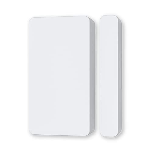 WiFi Door Sensor NEO Tuya Door Sensor, Detect Open/Close Status, No Hub Required, 2.4GHz, Work with Alexa, Google Assistant, NAS-DS05
