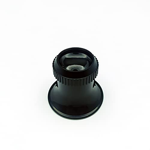 EUROXANTY Lupa de relojero | Lupa de Contacto para Ojo | Lupa para joyero | 15x Aumento | Lente de 22 mm | Lupa para Reparaciones