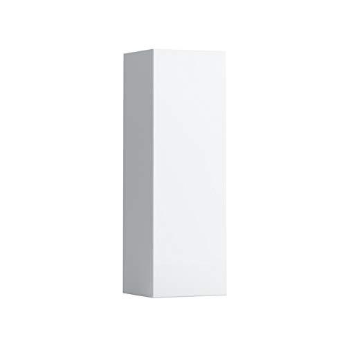 Lopende Palomba halfhoge kast, links of rechts scharnier, 1 deur, 275x250x825, Kleur: Sneeuw (wit mat) - H4067011802201