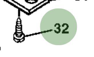 John Deere Original Equipment Screw #37M7458
