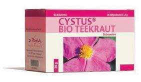 Dr. Pandalis - Cystus Bio Teekraut Aufgußbeutel 3er Set (3 x 20 Teebeutel à 1,5g) - Apothekenqualität, PZN15611531