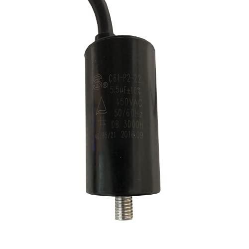 Desconocido Condensatore di avviamento per motore CATA GT Plus 45 WH/L C61-P2-22 5,5uF 450 VAC