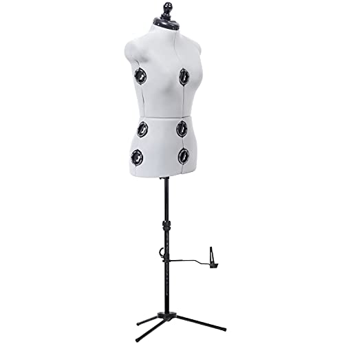 Dritz Twin-Fit-Small Dress Form, Grey