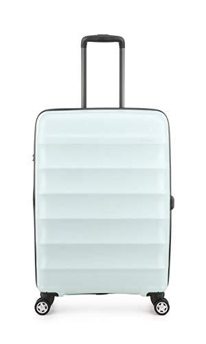 Antler Camber Sea Green Medium Suitcase   Travel Suitcase   Flight Case On Wheels   Push Cases   Luggage Sets   Suitcase Set   4 x Double Spinner Wheels   TSA Combination Lock   Branded   Designer  