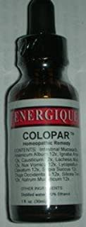 Energique Colopar Hemeopathic Remedy 1oz Intestinal Support