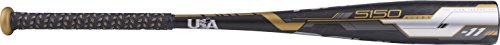 Rawlings 5150 Alloy USA 2-5/8' Big Barrel Baseball Bat, 30'/19 oz