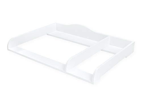 KraftKids Wickelaufsatz XXL extra breit 107,5 cm mit Trennfach für HEMNES