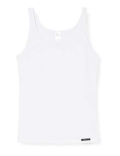Skiny Mädchen Tank Top Cotton Experience, Weiß (White 0500), 152