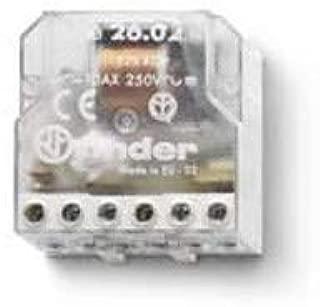 Finder 260482300000PAS Rel/è ad impulsiTeleruttore per scatola 230 VAC 2 NO 4 sequenze 10 A