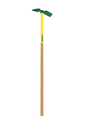 Leborgne Serfouette forgée panne et langue, Douille ovale, Hauteur tête: 30 cm, Manche: 110 cm, Acier forgé et trempé