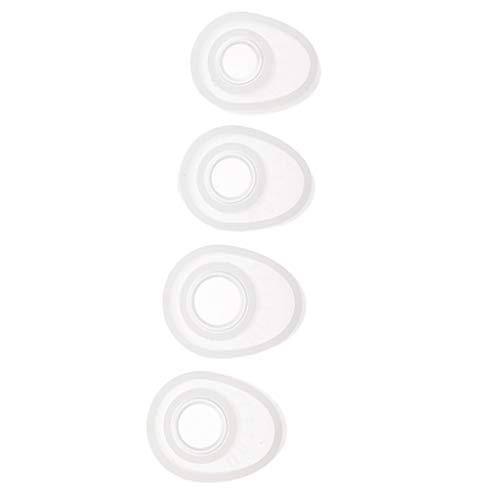 Hellery Paquet De 4 Bagues De Bague De Moule En Silicone Bague De Moulage En Silicone Pour Moulage De Résine Pour La Fabrication De Bricolage Décoratif, 16mm - #1