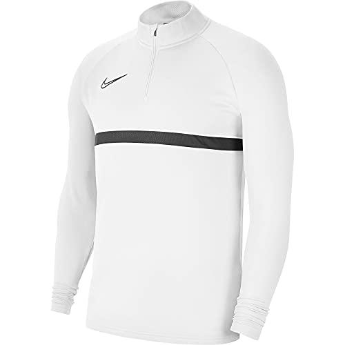 NIKE CW6110 M NK Dry ACD21 Dril Top Sweatshirt Mens White/Black/Black/Black XL