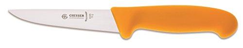 Giesser Messer Stechmesser gelb 13 cm Klingenlänge - Profimesser