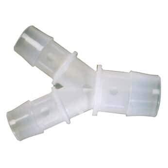 1//4 OD Cole-Parmer Bulkhead Compression Union 10 per Pack Polypropylene