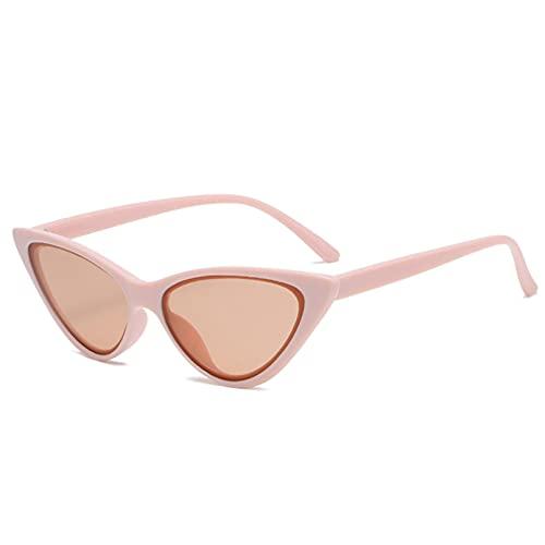 LUOXUEFEI Gafas De Sol Mujer Gafas De Sol Gafas Señoras Rosa Negro Mujer