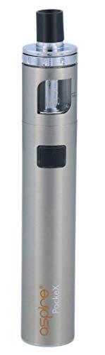 Aspire PockeX E-Zigaretten Set - 1500 mAh Akkukapazität - 2 ml Tankvolumen - Farbe: silber