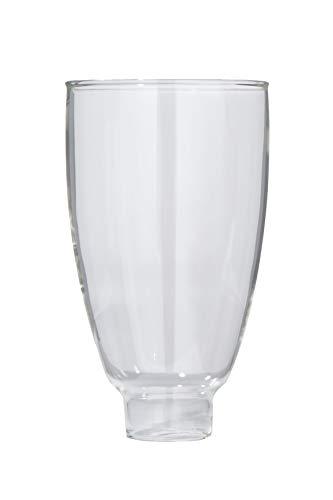 B & P Lampe Klar kolonial Lampe Schatten (61/5,1cm)