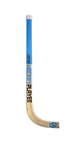 HOCKEYPLAYER Stick de Madera con Mango Delgado para Alevin (90cm) para Hockey sobre Patines de Ruedas en Paralelo