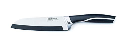 Fissler Bionic Santokumesser 18cm Messer, Edelstahl, Silber, 45.5 x 13.5 x 5 cm
