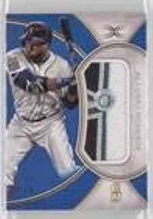 Robinson Cano #7/35 (Baseball Card) 2018 Topps Definitive Collection - Jumbo Relic Collection - Blue #DJRC-RC